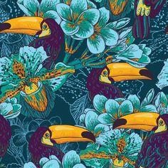 Papel de Parede Floral 1588