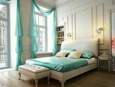 Image result for turquoise bedroom
