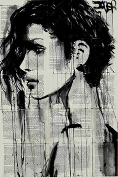 "Saatchi Art Artist Loui Jover; Drawing, ""short cut"" #art"