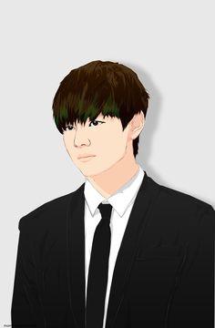 "Kim Taehyung @ 2015 MAMA Red Carpet ""bw (x). ref. vtac """