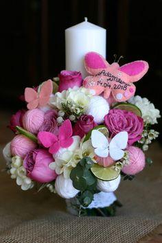 Candels, Handmade Art, Nasa, Wedding Flowers, Bouquet, Easter, Table Decorations, Crafts, Design