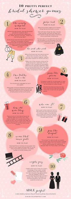 Bridal shower game ideas: