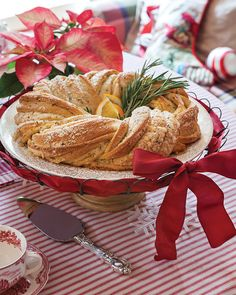This Orange Rosemary Wreath is a perfect addition to a holiday brunch menu.