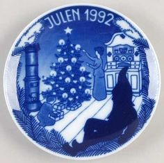LOT-PORSGRUND-Christmas-Plates-Norway-1988-1989-1990-1991-1992-5-Pc-Complete-Set Plates For Sale, Christmas Plates, Your Favorite, Norway, Tableware, Ebay, Decor, Dinnerware, Decoration
