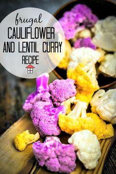 Cauliflower and Lentil Curry