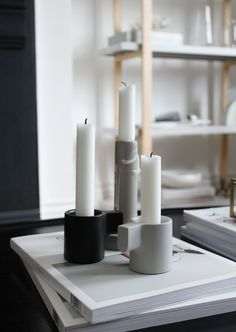 IKEA x HAY YPPERLIG Candle Holders Ikea X Hay, Ikea Candle Holder, Ikea Candles, Danish Design, Furniture Decor, Diy And Crafts, Objects, House Design, Interior Ideas