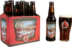 avery brewing old jubilation ale - the one ale that almost makes the holidays worth it.