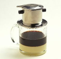 Vietnamese Coffee: soooo amazing! I crave the Rustic Spoon's coffee! The condensed milk is what it's all about...