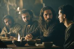 the passion of the christ Jesus JIM | The Passion of the Christ (movie) Jesus (Jim Caviezel) sits with the ...