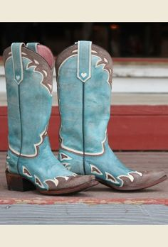 the back 40 boot- turquoise