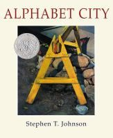 A 1996 Caldecott Honor book! The urban landscape will never look the same again. As Stephen T. Johnson demonstrates in a series of strikingly realistic. Alphabet School, Alphabet City, Alphabet Book, The Napping House, Viking Books, Wordless Book, Children's Book Awards, Library Of Congress, Book Authors