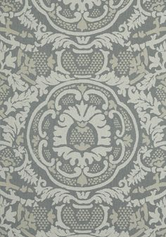 EARL DAMASK, Charcoal, T10840, Collection Heritage from Thibaut View Wallpaper, Damask Wallpaper, Designer Wallpaper, Pattern Wallpaper, Construction Wallpaper, Upholstered Walls, Neutral Palette, Fabric Patterns, Tapestry