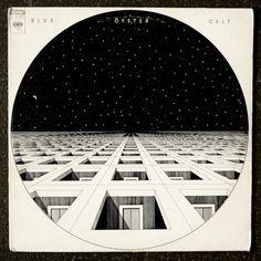 """BLUE OYSTER CULT """"BLUE OYSTER CULT"""" (1972) Cover by Bill Gawlik"""