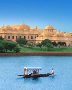 India, the other bucket list topper... The Oberoi Udaivilas - Udaipur, India #Jetsetter #JSTakeMeThere