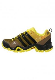 adidas Performance - AX2 CP  - Walking shoes - raw ochre/core black/bright yellow