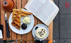 Waffle, Hot Chocolate | 相片擁有者 ulterior epicure