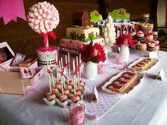 Cupcake's house: Mesa de Dulces