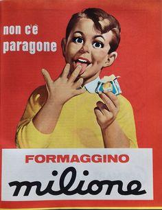 formaggino Milione - 1968 - (Invernizzi)
