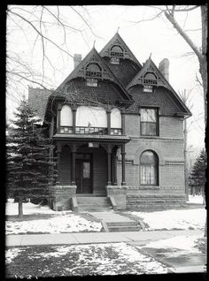 Sigma Phi Epsilon House (Catalog) at 428 South College Avenue, Fort Collins, CO. 1917. UHPC, University Archive, Archives and Special Collections, CSU, Fort Collins, CO