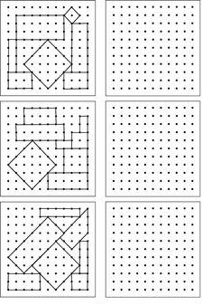 géométrie ce1,ce2,la symétrie,reproduire une figure | Géométrie ce1, Géométrie ce2, Exercice ...
