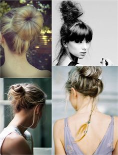 cute and easy hair bun for winter with clip on best hair extension