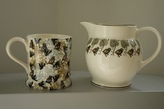 Emma Bridgewater Studio Special 0.5 Pint Mug and Studio Special 1.5 Pint Jug for Collectors Day