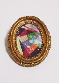 Day 6: Accessorize.  beautiful, artistic brooch. {sorry, specific link is no longer valid} #NewYearStyleChallenge