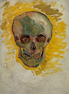 Happy Halloween!  Image: Vincent van Gogh, Skull, 1887, Van Gogh Museum Amsterdam (Vincent van Gogh Foundation)
