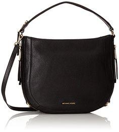 Women's Shoulder Bags - MICHAEL Michael Kors Julia Medium Convertible Shoulder Bag Black ** See this great product.