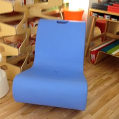 plastic rocking chair comes in different colors! Plastic Rocking Chair, Floor Chair, Different Colors, Flooring, Furniture, Home Decor, Products, Decoration Home, Room Decor