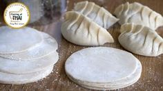 Como hacer Pasta para Gyoza, Empanadillas Chinas y Dumplings| Masa para empanadillas