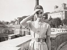 Audrey in Rome//