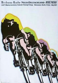 Herbie Sykes ‏@herbiesykes The Peace Race pays homage to pop art. Krystoforski's beautiful 1971 poster.