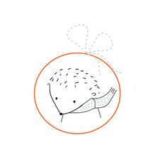 Follow the White Bunny: Free Hedgehog Embroidery Pattern, thanks so xox
