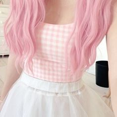 Find images and videos about hair, pink and kawaii on We Heart It - the app to get lost in what you love. Pastel Goth Fashion, Kawaii Fashion, Cute Fashion, Look Fashion, Fashion Hair, Lolita Fashion, Fashion Styles, Korean Fashion, Style Kawaii
