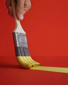 Paintbrush + Bananas
