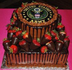 army wedding cakes for groom Military Wedding Cakes, Military Cake, Military Party, Military Weddings, Wedding Cake Decorations, Wedding Cake Toppers, Wedding Favors, Wedding Invitations, Wedding Rings