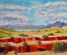 "Dos Arroyos, 30x36 by Michelle Chrisman Oil ~ 30"" x 36"""
