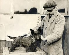 Vintage photo - Scottie Dog 1930's