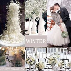 Winter Wedding | #exclusivelyweddings | #weddingcolors