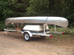 canoe | Shown with our 17' Grumman aluminum canoe loaded for trial fit.
