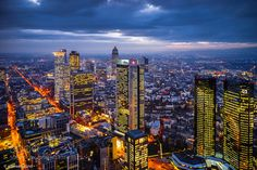Frankfurt / Main Frankfurt (Germany) is the largest financial centre in continental Europe. It is home to the European Central Bank Deutsche Bundesbank Frankfurt Stock Exchange and several large commercial banks.   View from the Maintower (200m)
