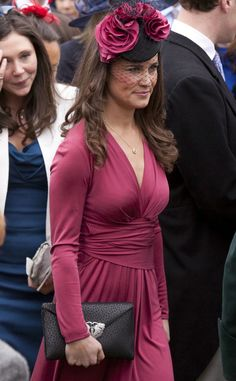 There's a Pattern Here from Pippa Middleton's Wedding-Guest Looks | E! Online