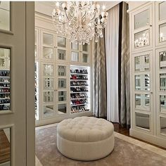 """Dream! Tag your fashionista friend! Tagged by @loveluxuryinteriors credit: ? #dreamcloset"""