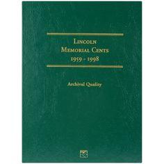 Lincoln Memorial Cent Folder-1959-1998 - 1959-1998