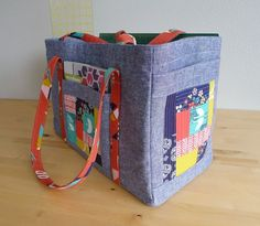 The Sewing Circle tote by Elizabeth Hartman - pattern coming soon!