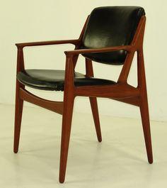 """Ella"" dining chair by Arne Vodder."