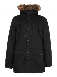 c259cbbac933 BLACK WOOL BORG PEA COAT Price   170.00 Color  BLACK