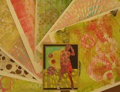 Diana KovacsGelli Arts - Gel Printing Plate Love using my Gel Printing Plate!