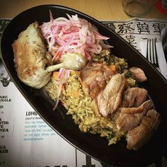 🇵🇪Peruvian-style rice with duck: Speak Spanish, kiss French, dress Italian, spend Arab, party Caribbean and EAT Peruvian 🇵🇪 #foodie #foodporn #meat #duck #yum #yummy #delicious #quote #quoteoftheday #photooftheday #picoftheday #instadaily #instafood #recipe #cooking #healthy #fit #おいしい #肉 #晩ごはん #嬉しい #楽しい #パーティー #yolo #happy #like #fitness #peru #tbt #lunch